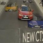 【動画】錯視を利用して日常ではあり得ない走りを表現する、TOYOTAから発売されたNewレクサス CT200hのCM動画