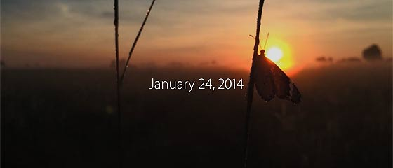 【動画】MAC誕生30周年を記念して、Appleが制作した動画『 1.24.14 』を公開