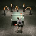 【動画】人間対ロボットの戦いの行方は?!産業用ロボットのとても繊細な動きを、卓球というスポーツで訴求するCM動画『 The Duel 』
