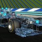 【3D】レッドブル所属のF1ドライバー ダニエル・リカルド が今年のF1マシンの変更点を解説してくれる、3DCGをフル活用した映像