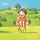 【動画】『フミコの告白』の石田祐康監督による、次第に成長していく少女と、少女にそっと寄り添う一脚のイスの交流を優しいタッチで描くアニメーション作品『ポレットのイス』