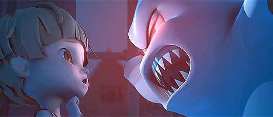 【動画】子供を怖がらせる事に生き甲斐を感じるお化けと可愛い女の子を描いた、心暖まる3DCGアニメーション作品『 Willy`s Night of Surprises 』【3D】