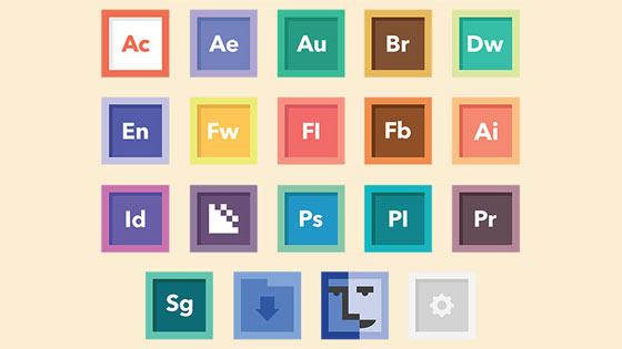 フラットデザインに似合うSNSアイコンなどが配布中 『35 Beautiful Free Flat Icons Sets that You can Use』17