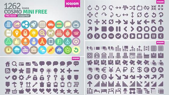 フラットデザインに似合うSNSアイコンなどが配布中 『35 Beautiful Free Flat Icons Sets that You can Use』21