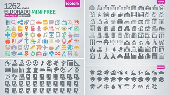 フラットデザインに似合うSNSアイコンなどが配布中 『35 Beautiful Free Flat Icons Sets that You can Use』22