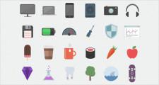 フラットデザインに似合うSNSアイコンなどが配布中 『35 Beautiful Free Flat Icons Sets that You can Use』23