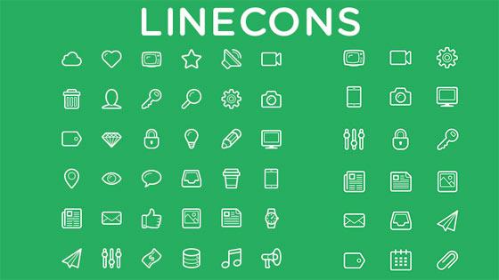 フラットデザインに似合うSNSアイコンなどが配布中 『35 Beautiful Free Flat Icons Sets that You can Use』26