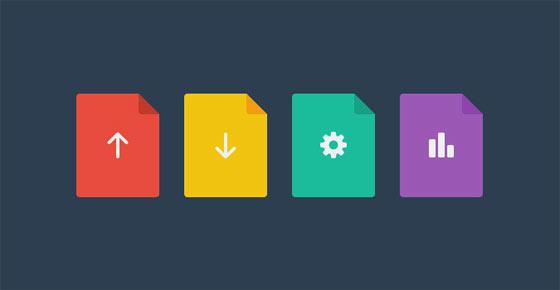 フラットデザインに似合うSNSアイコンなどが配布中 『35 Beautiful Free Flat Icons Sets that You can Use』27