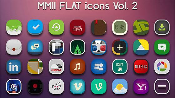 フラットデザインに似合うSNSアイコンなどが配布中 『35 Beautiful Free Flat Icons Sets that You can Use』35