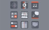 フラットデザインに似合うSNSアイコンなどが配布中 『35 Beautiful Free Flat Icons Sets that You can Use』6