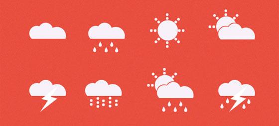フラットデザインに似合うSNSアイコンなどが配布中 『35 Beautiful Free Flat Icons Sets that You can Use』7