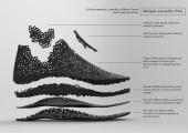 3Dプリンターで形作る靴3