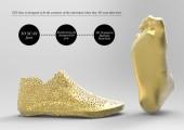 3Dプリンターで形作る靴4