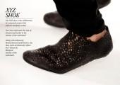3Dプリンターで形作る靴5