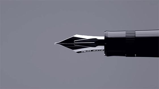 PILOTが出した万年筆の新製品『 ジャスタス95 』の書き味を紹介する動画が素晴らしい【動画】1