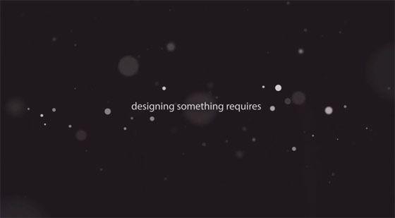 アップルがWWDC2013で上映したプロモーション映像『Intention』3