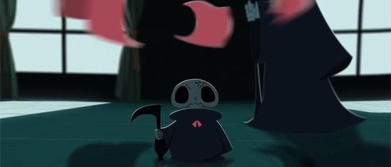 【動画】可愛い少女の魂はどうなってしまうのか?!裁縫が得意な心優しい死神のタマゴの姿を描いたアニメーション『 Deathigner 死神訓練班 』