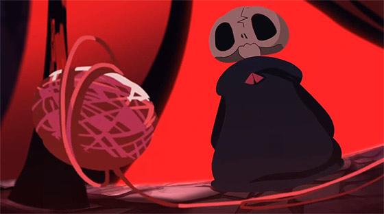 可愛い少女の魂はどうなってしまうのか?!裁縫が得意な心優しい死神のタマゴの姿を描いたアニメーション『 Deathigner 死神訓練班 』1