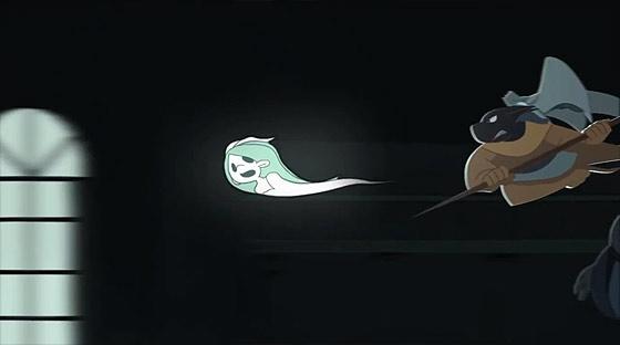 可愛い少女の魂はどうなってしまうのか?!裁縫が得意な心優しい死神のタマゴの姿を描いたアニメーション『 Deathigner 死神訓練班 』4