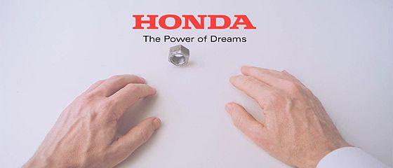 【動画】1つのナットが掌の上で次々に姿を変えていくHONDAのCM 『Hands』