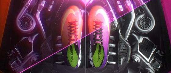 【動画】NIKEのサッカー用スパイク『MERCURIAL VAPOUR IX』の超スタイリッシュなCM