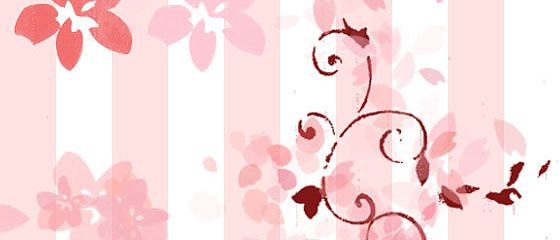 【素材】桜の花や花びらを表現したPhotoshopブラシ素材『25 Delicate-Looking Cherry Blossom Brushes』