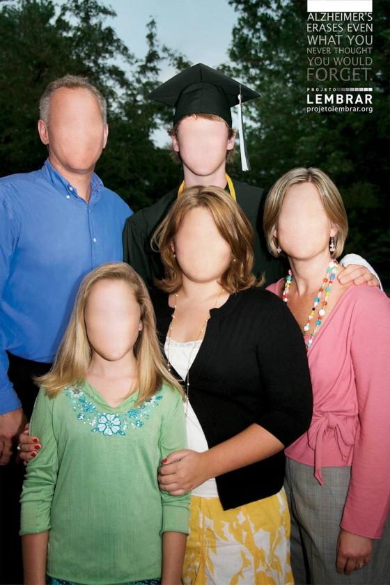 アルツハイマー病の怖さを突きつける、衝撃的なポスター広告(と動画)2