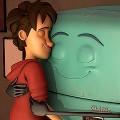 【動画】少年と古びた冷蔵庫の心温まる交流を描いた3DCGアニメーション『 Runaway 』