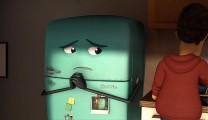 少年と古びた冷蔵庫の心温まる交流を描いた3DCGアニメーション『 Runaway 』3