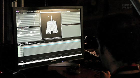 サグラダ・ファミリアで行われた、大規模なプロジェクションマッピング映像『 Ode à la vie 』1