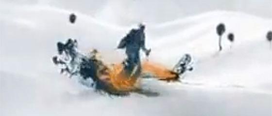 【動画】水墨画で描いたような躍動感あふれる人工関節のCM
