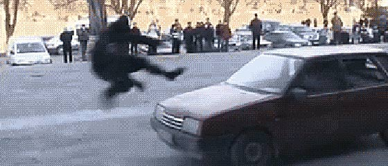 【GIF動画】ロシアの特殊部隊『スペツナズ』の、恐るべき速さで犯人を制圧するGIF動画【おそロシア】