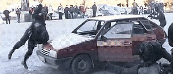 ロシアの特殊部隊『スペツナズ』の、恐るべき速さで犯人を制圧するGIF動画【おそロシア】3