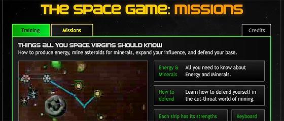 【Flashゲーム】お盆休みにいかが?宇宙空間で資源を採掘し、猛烈な敵の来襲を防ぐ『 The Space Game: Missions 』