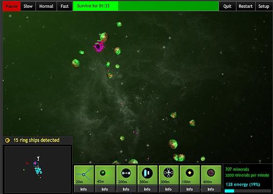 お盆休みにいかが?宇宙空間で資源を採掘し、猛烈な敵の来襲を防ぐ『 The Space Game: Missions 』3