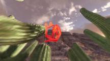 軽快なタンゴの音楽に合わせて踊る、風船アートで作られた犬の面白い動画 『 Tumbleweed Tango 』4