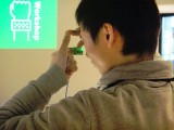指のジェスチャーで構図を決めて、そのまま撮影できるカメラ『Ubi-Camera (ユビカメラ)』2