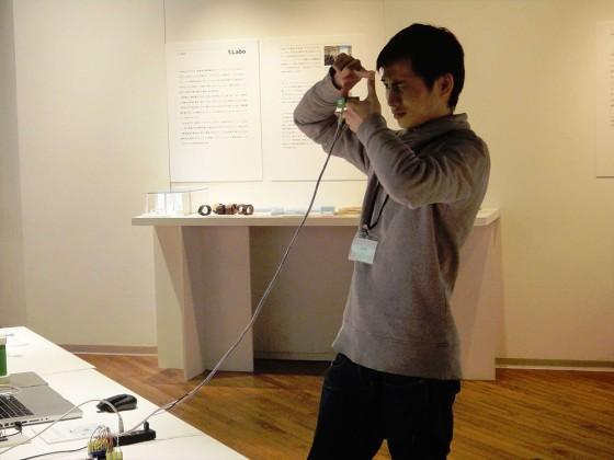 指のジェスチャーで構図を決めて、そのまま撮影できるカメラ『Ubi-Camera (ユビカメラ)』3