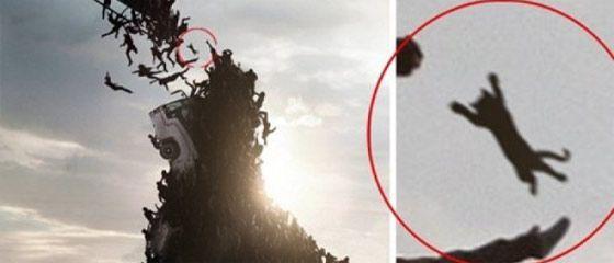 【動画】ネコも宙を舞う?!ブラッド・ピット主演の映画『WORLD WAR Z』のポスターが話題です