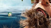 無人島で腹を空かせる男性の元に流れ着いたスナック菓子のCM2