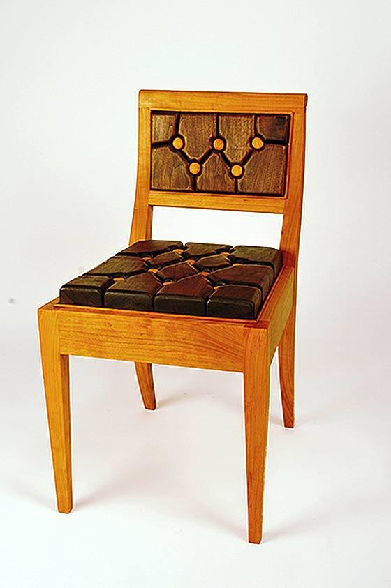 Diamond Tufted Chair