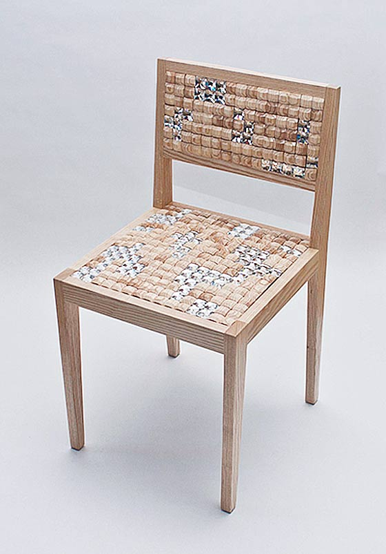 Swarovski Crystal Chair