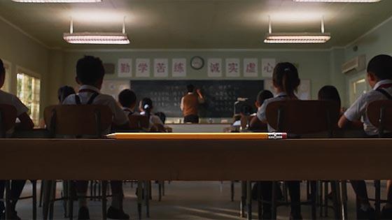 iPadは鉛筆の様にあらゆる環境や用途にマッチしている事を伝える、AppleによるとてもミニマルなCM動画『 Pencil 』3