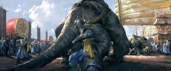 半獣人や獣たちが入り乱れて戦う中国のオンラインゲーム『 斗战神 』の予告映像が凄い コンセプトアート3