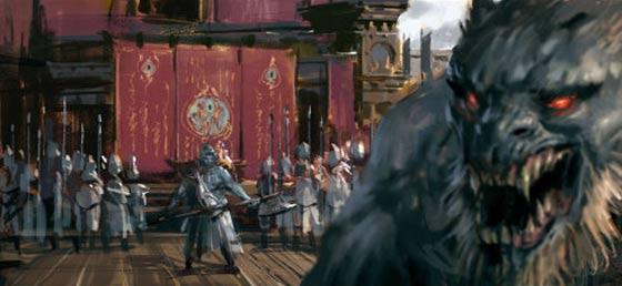 半獣人や獣たちが入り乱れて戦う中国のオンラインゲーム『 斗战神 』の予告映像が凄い コンセプトアート5