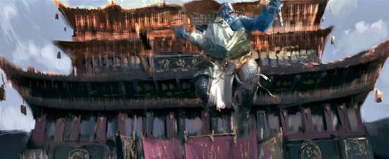 半獣人や獣たちが入り乱れて戦う中国のオンラインゲーム『 斗战神 』の予告映像が凄い コンセプトアート7