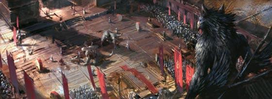 半獣人や獣たちが入り乱れて戦う中国のオンラインゲーム『 斗战神 』の予告映像が凄い コンセプトアート1