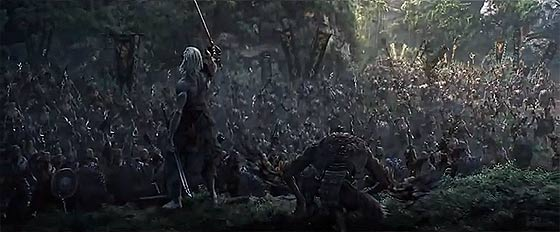 半獣人や獣たちが入り乱れて戦う中国のオンラインゲーム『 斗战神 』の予告映像が凄い5
