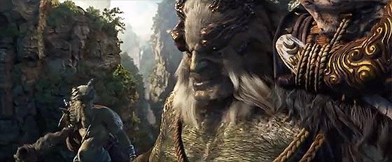 半獣人や獣たちが入り乱れて戦う中国のオンラインゲーム『 斗战神 』の予告映像が凄い7