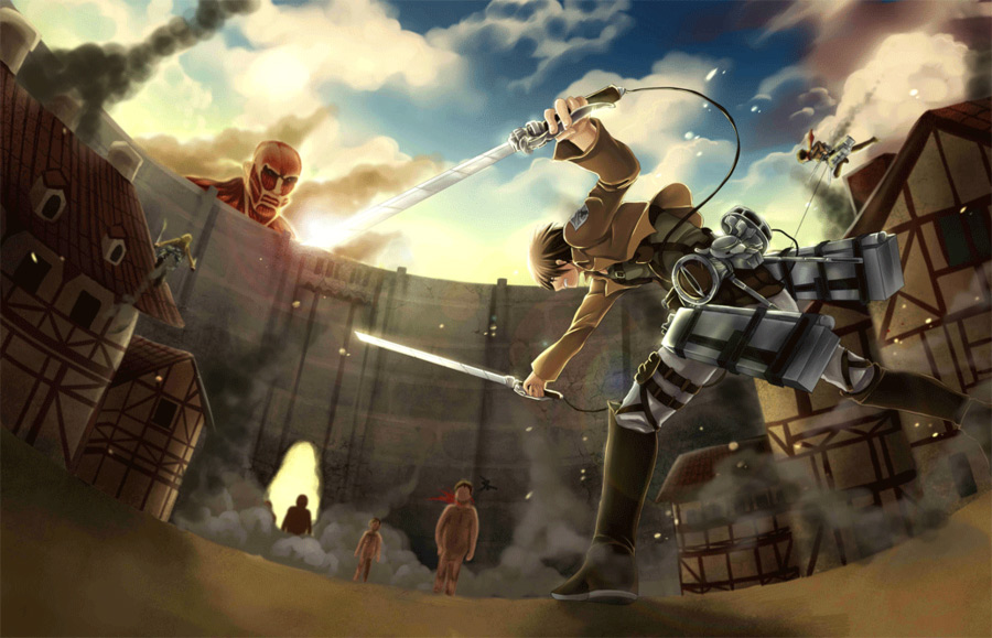 大人気漫画『 進撃の巨人 』の外国人ファンが描くファンアートが素晴らしい!11